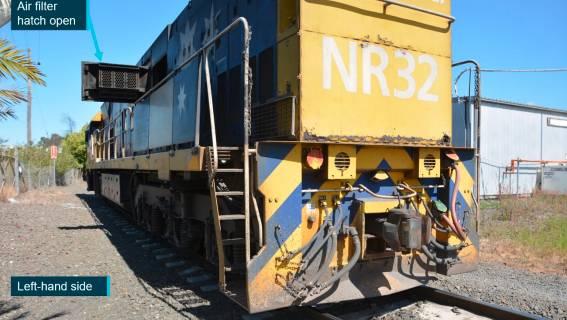 Windows smashed as Kiama-bound passenger train clips freight train