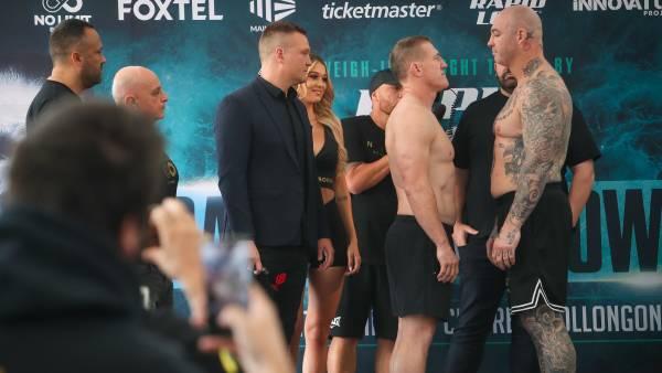 Fight night! Paul Gallen vs Lucas Browne in Wollongong - live updates